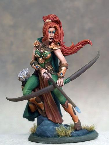 Visions In Fantasy: Female Ranger w/Bow