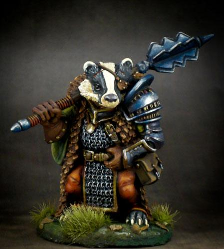 Critter Kingdoms: Frothy UK Badger