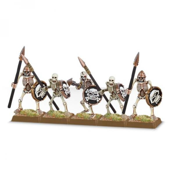 Age of Sigmar: Skeleton Warriors (5 models)
