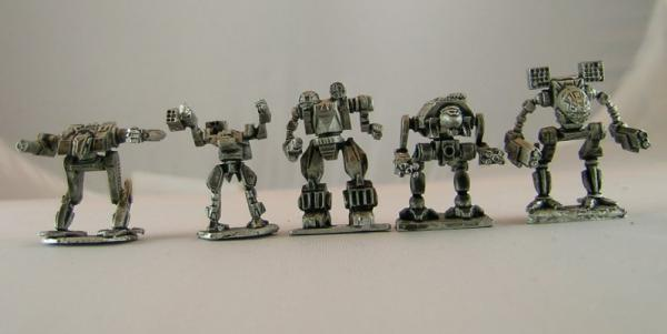 BattleForce Scale Clan Star Pack 1 (5)