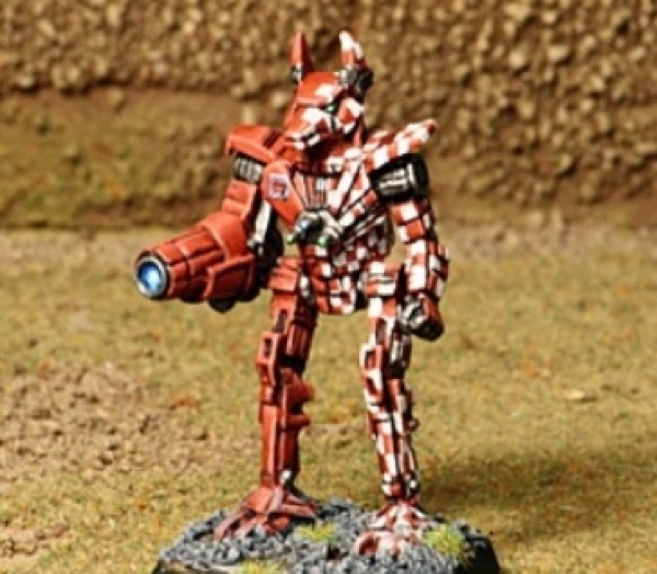 BattleTech Miniatures: Wolfhound WLF-2H Mech (TRO Prototypes)