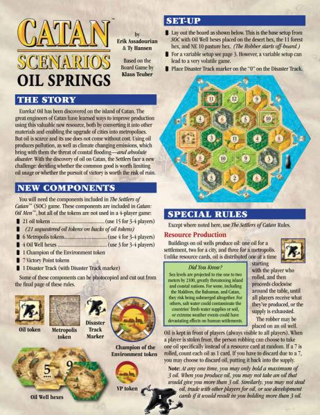Catan: Oil Springs