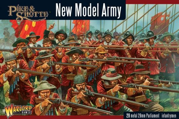 28mm Pike & Shotte: New Model Army