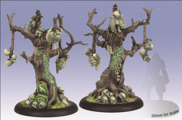 (Circle Orboros) Gallows Grove Solos (resin/metal)