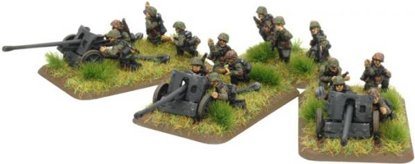 Flames of War: 5cm PaK38 gun (SS)