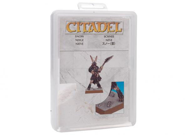 Supplies and Tools: Citadel Snow