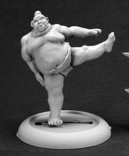 Chronoscope: Kawa, Sumo Wrestler