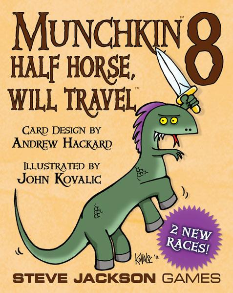 Munchkin 8: Half Horse, Will Travel (Expansion)