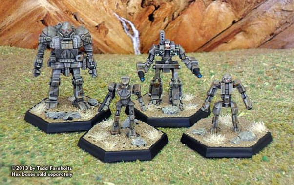 BattleForce Scale Inner Sphere Lance Pack 2 (4)