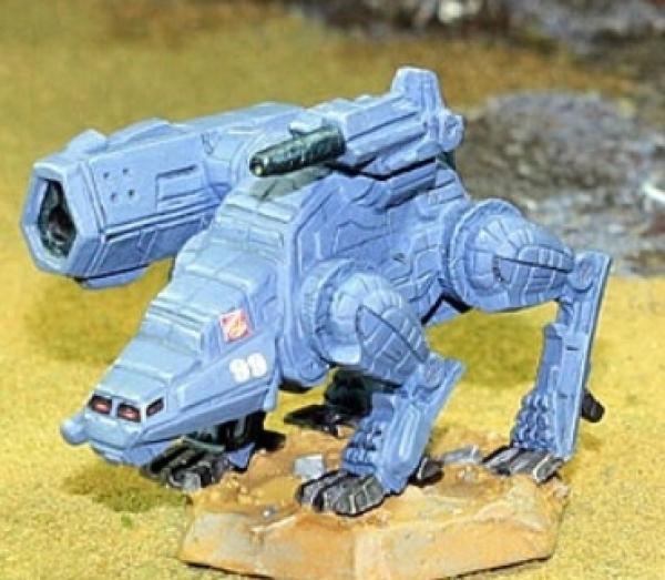 BattleTech Miniatures: Barghest BGS-4T Mech (TRO Prototypes)