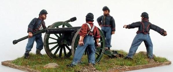 28mm American Civil War: (Union) Artillery