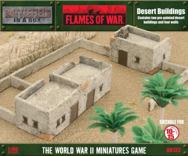 Battlefield in a Box: Desert Buildings