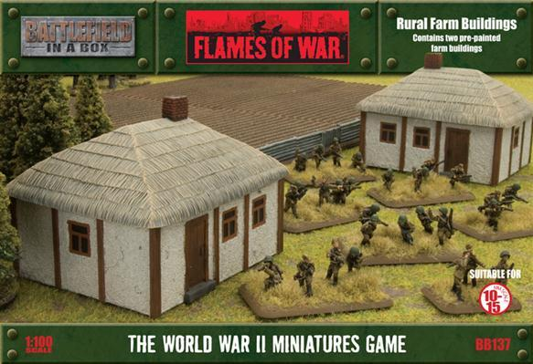 Battlefield in a Box: Rural Farm Buildings