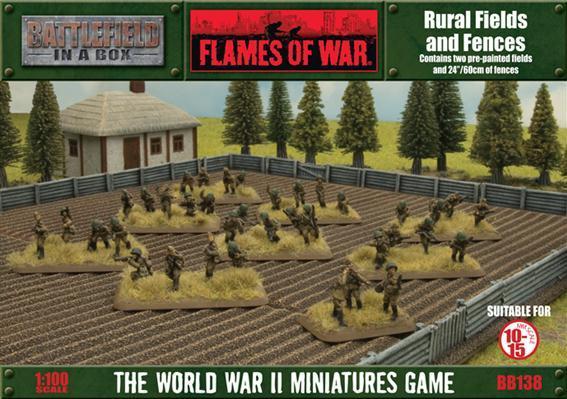 Battlefield in a Box: Rural Fields & Fences