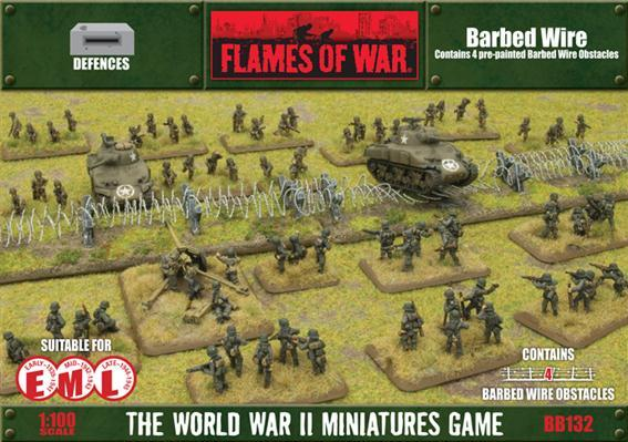 Battlefield in a Box: European Barbed Wire Obstacles
