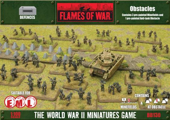 Battlefield in a Box: European Minefields and Anti-tank Obstacle