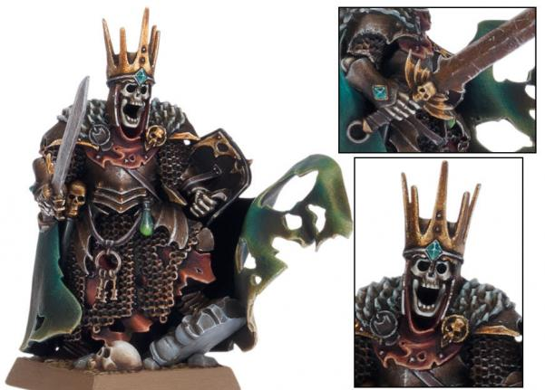 Age of Sigmar: Wight King with Baleful Tomb Blade