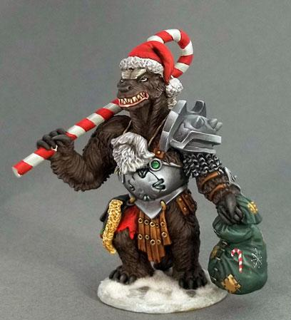 Critter Kingdoms: Christmas Honey Badger