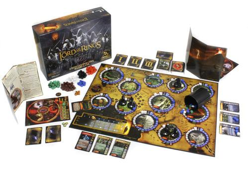 The Lord of the Rings: Nazg�l Board Game