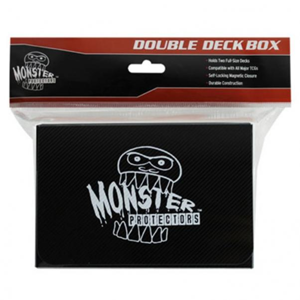Monster Double Deck Boxes: Self Locking - Matte Black