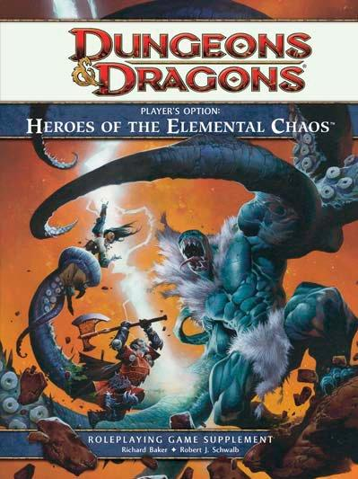 Dungeons & Dragons Player's Options: Heroes of the Elemental Chaos