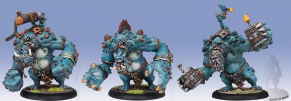 Hordes: (Trollbloods) Blitzer/Bomber/Mauler Dire Troll Heavy Warbeast (plastic)