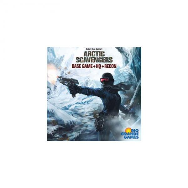 Arctic Scavengers: Base Game with HQ and Recon Expansions