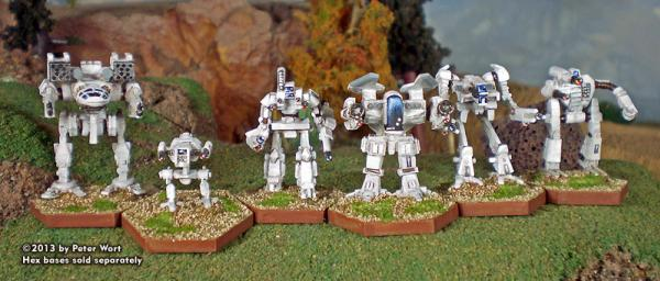 BattleForce Scale Level II Comstar Pack (6)