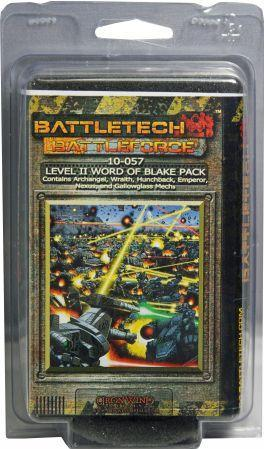 BattleForce Scale Level II Word Of Blake Pack (6)
