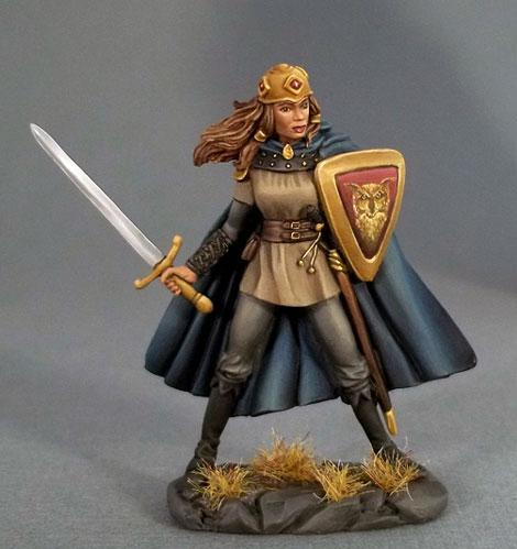 Easley Masterworks: Female Fighter w/Long Sword (1)