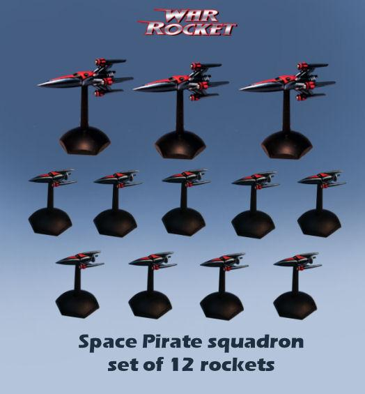 War Rocket - Space Pirates: Space Pirate Squadron