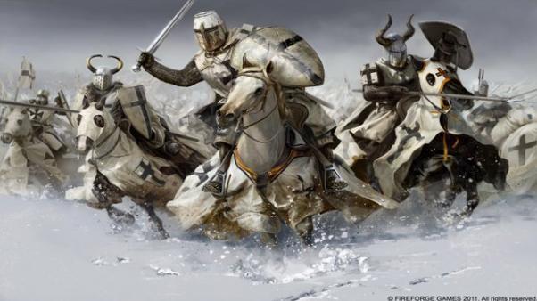 28mm Deus Vult: Teutonic Knights Cavalry (12)