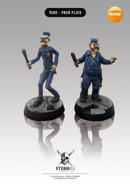 Rixe: Cops Pack