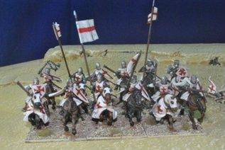 28mm Deus Vult: Templar Knights Cavalry (12)