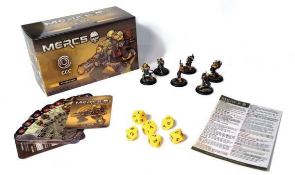 Mercs Minis - CCC: Starter Pack