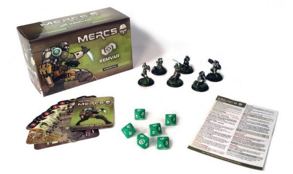 Mercs Minis - KemVar: Starter Pack