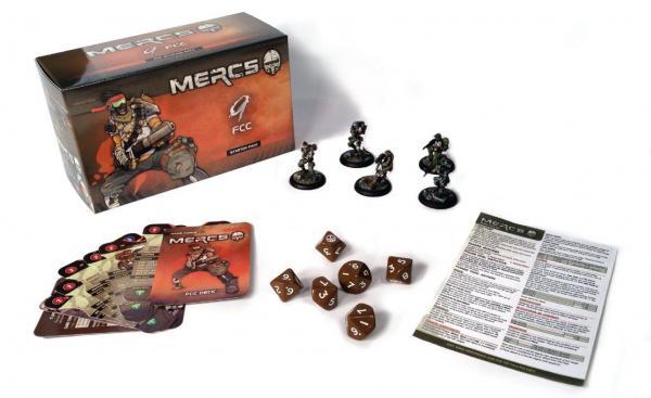 Mercs Minis - FCC: Starter Pack