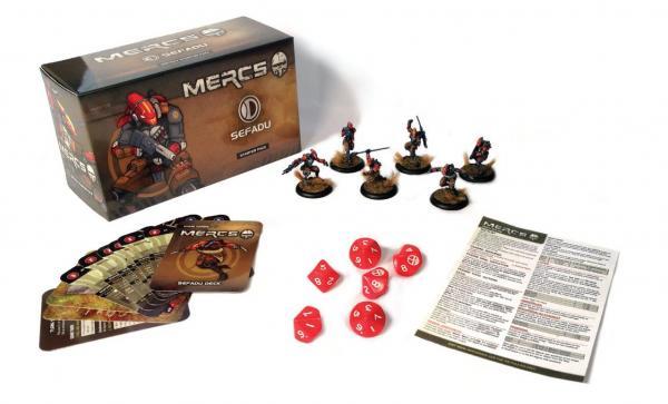 Mercs Minis - Sefadu: Starter Pack