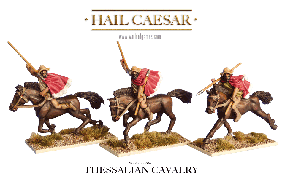 28mm Ancients - Ancient Greeks: Thessalian Light Cavalry