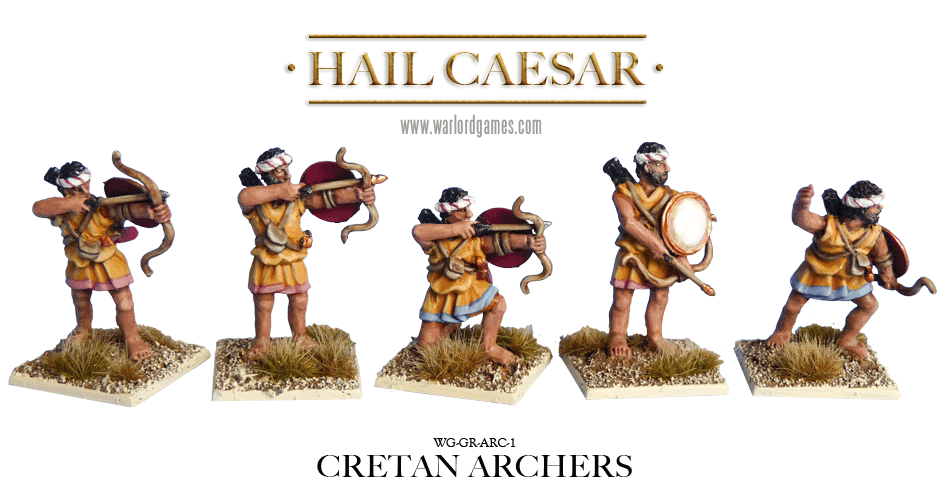 28mm Ancients - Ancient Greeks: Cretan Archers (8)