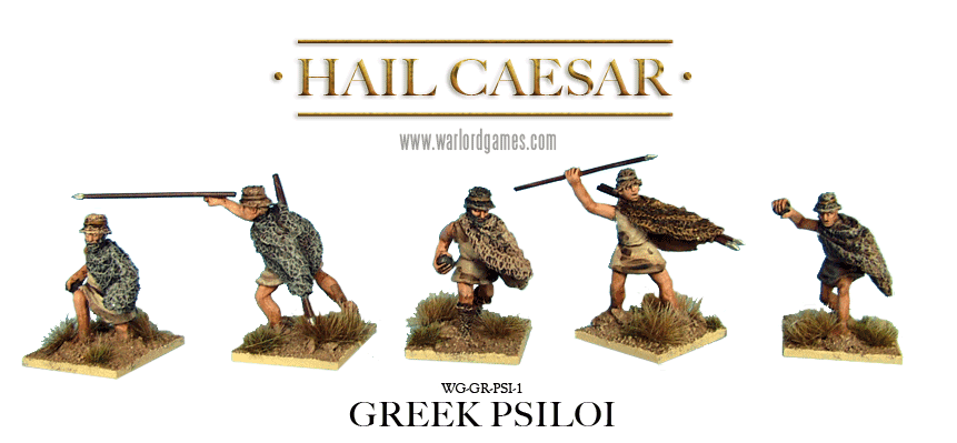 28mm Ancients - Ancient Greeks: Greek Psiloi (8)