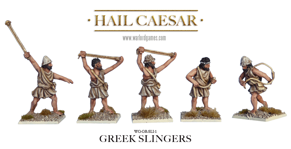 28mm Ancients - Ancient Greeks: Greek Slingers (8)