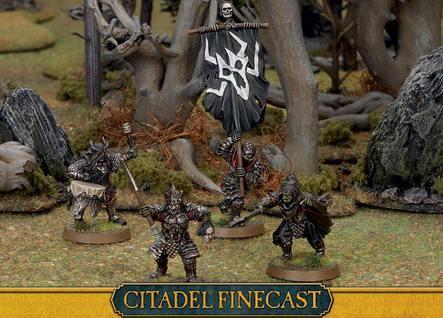 Citadel Finecast Resin: Morannon Orc Commanders