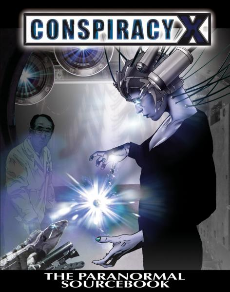 Conspiracy X 2.0 RPG: The Paranormal Sourcebook