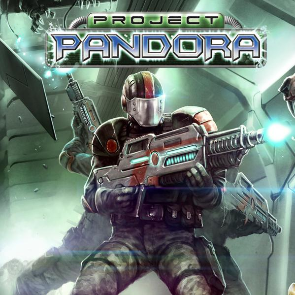 Project Pandora: Grim Cargo Sci-Fi Board Game
