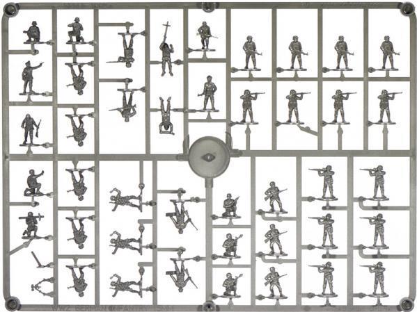 Wargames Factory - 15mm World War II: German Infantry Company Late War (84)