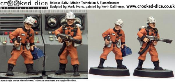 Cult TV Miniatures: Minion Specialists (2)