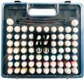 Paints Suitcase (x72 Colors & x3 Brushes)
