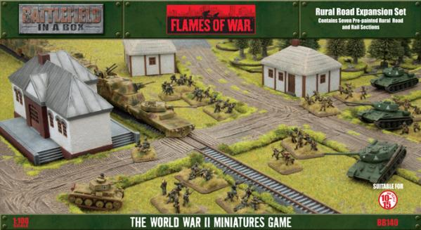 Battlefield in a Box: Rural Road Expansion Set