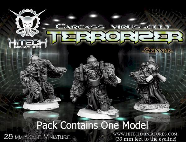 (Morbid Angels) Terrorizer Skinner, Carcass Virus Cult